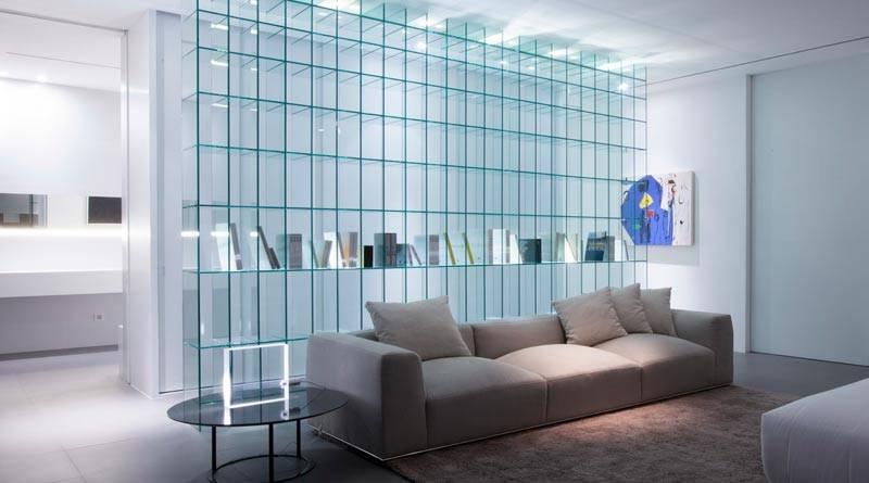 Стекло в интерьере - 50 идей использования декоративного, матового и цветного стекла
