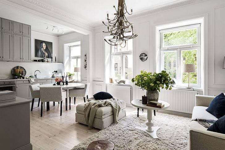 Шведский стиль в интерьере: 10 правил шведской обстановки