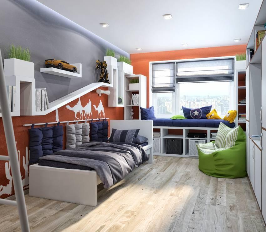 Детские комнаты для мальчика: 90 реальных фото-идей дизайна детской