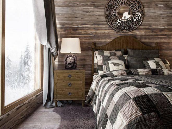 Спальня в стиле шале: особенности и варианты оформления