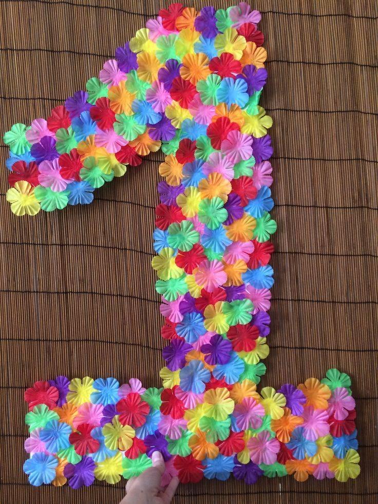 Как сделать цифры на день рождения своими руками: идеи изготовления праздничных цифр от 1-9 пошагово с фото и видео | qulady