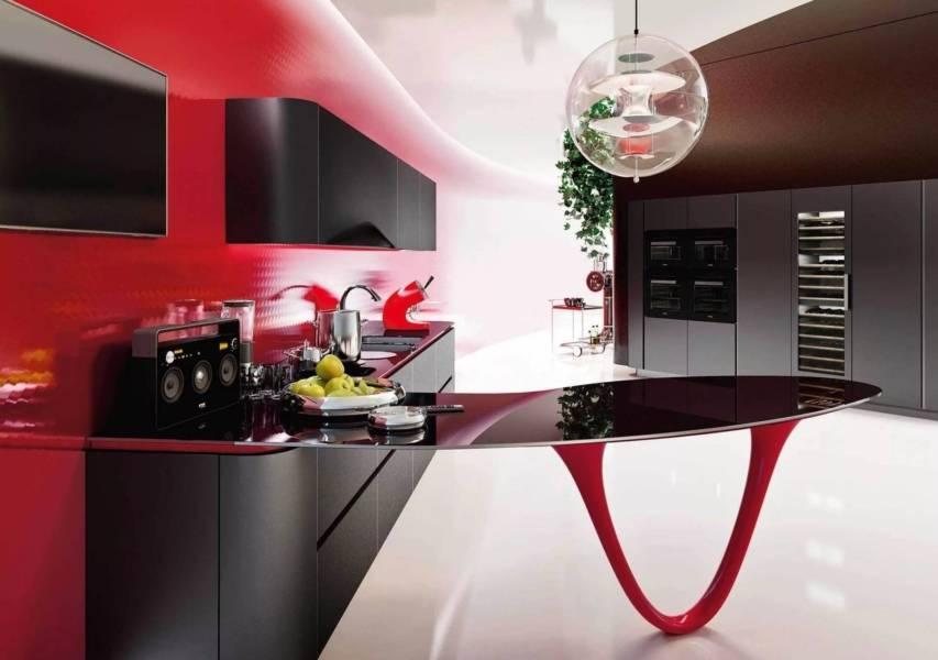 Дизайн кухни в стиле хай-тек: 70 + фото примеров от дизайнеров