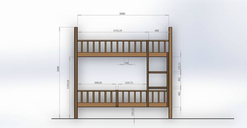 Примеры и варианты дизайна детских кроваток