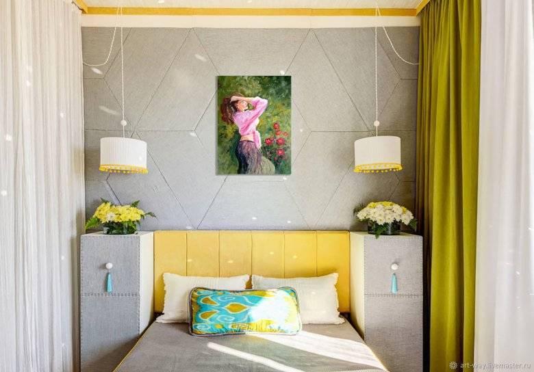 Дизайн спальни 9 м2: советы по оформлению (85 фото)