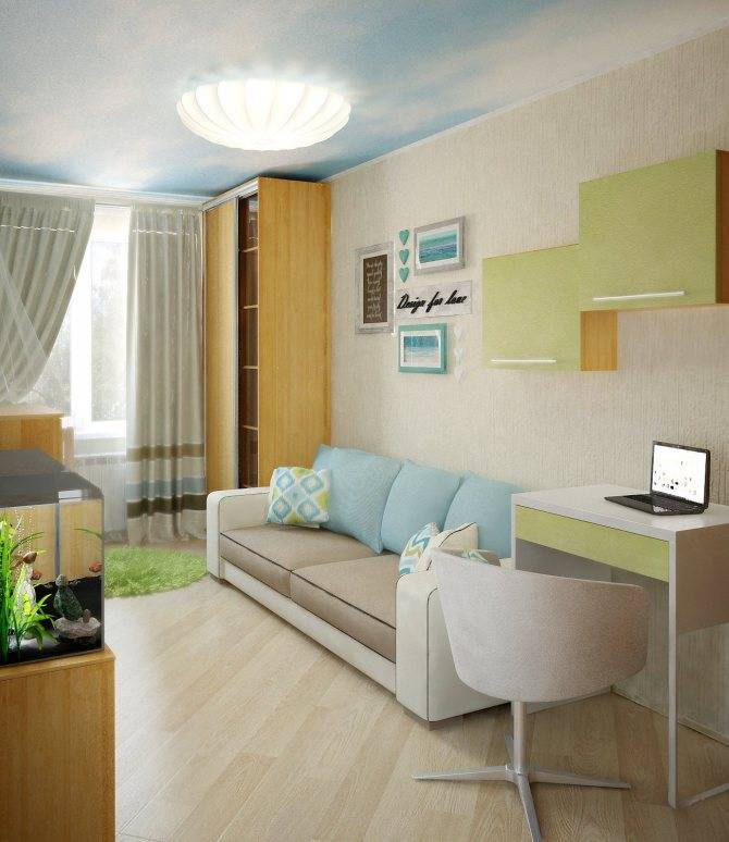 Как увеличить комнату: выбор цвета, мебели, оформление стен, потолка и пола