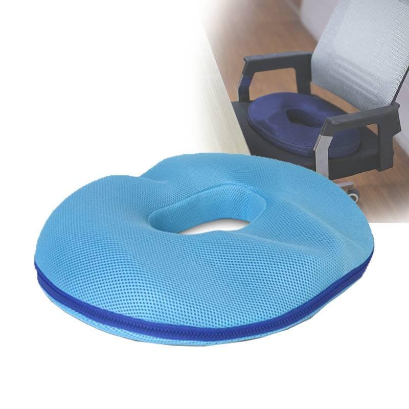 Ортопедическая подушка для сидения стульев и кресел / как выбрать?