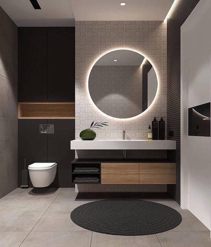 Дизайн ванной 2020: 100 фото лучших идей современного дизайна