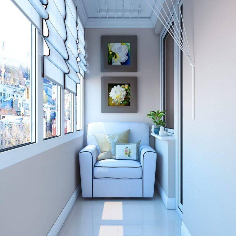 100 лучших идей: дизайн лоджии и балкона на фото