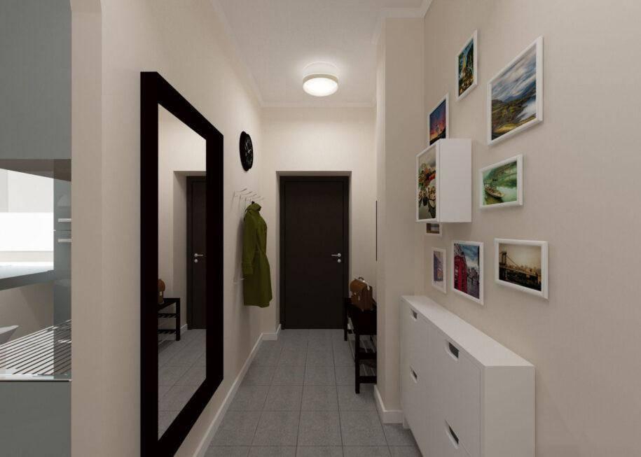Дизайн узкой прихожей: лучшие идеи для оформления интерьера