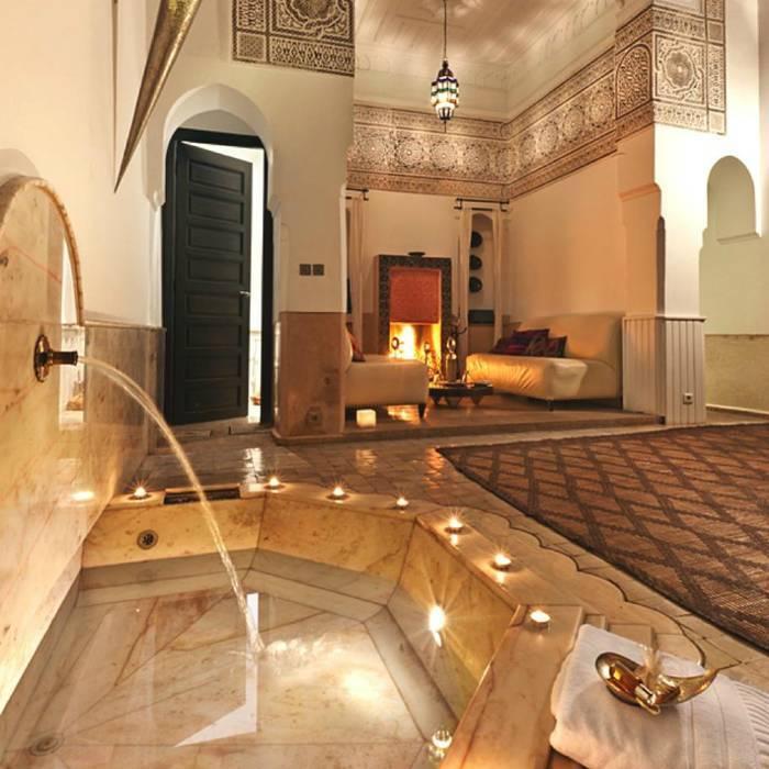 Интерьер ванной в арабском стиле