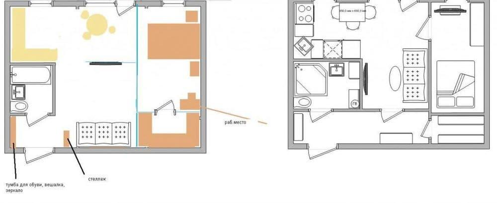Планировка «хрущевки»: фото,варианты, серии домов