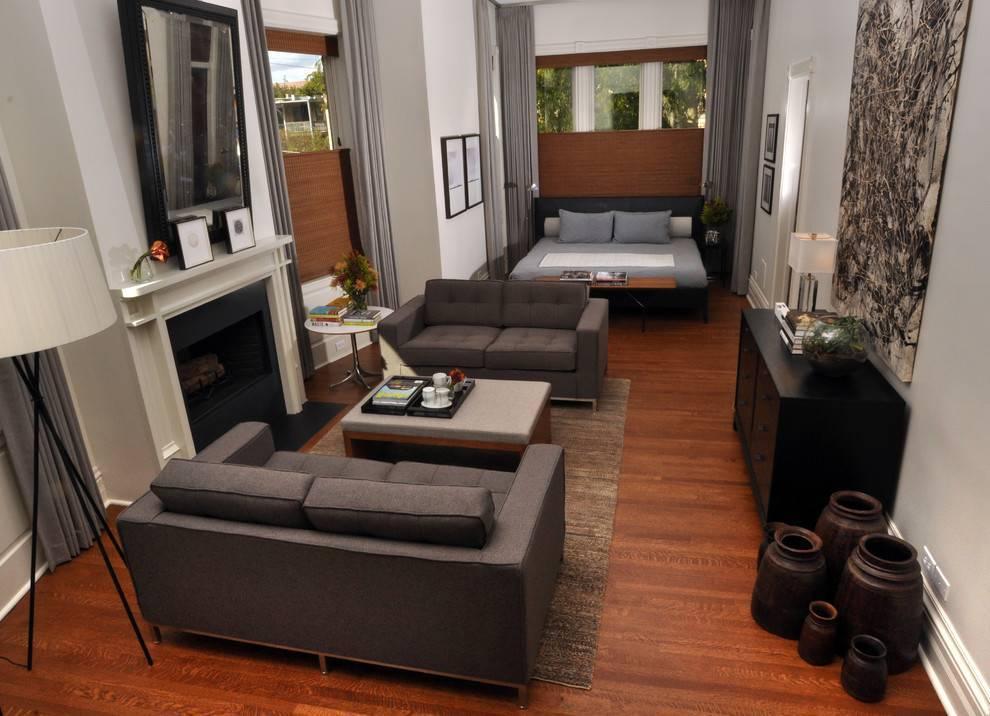 Как расположить диван в гостиной   варианты и правила размещения