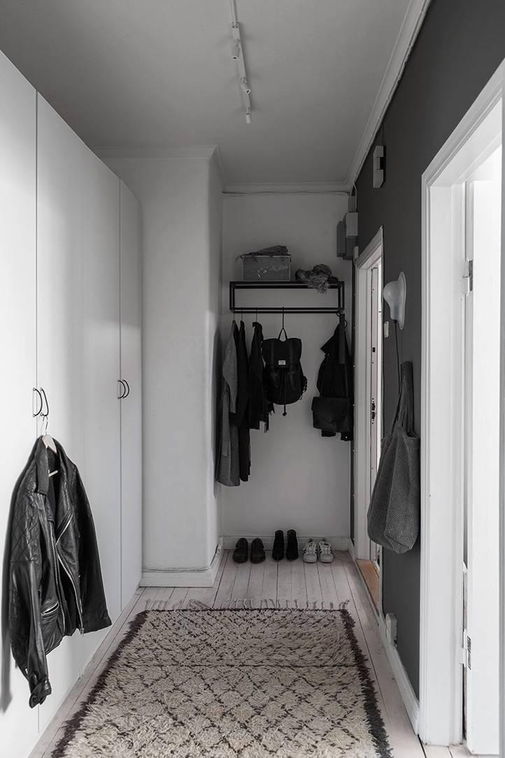 Черная прихожая: 105 фото оригинальных стилей и идей оформления прихожей