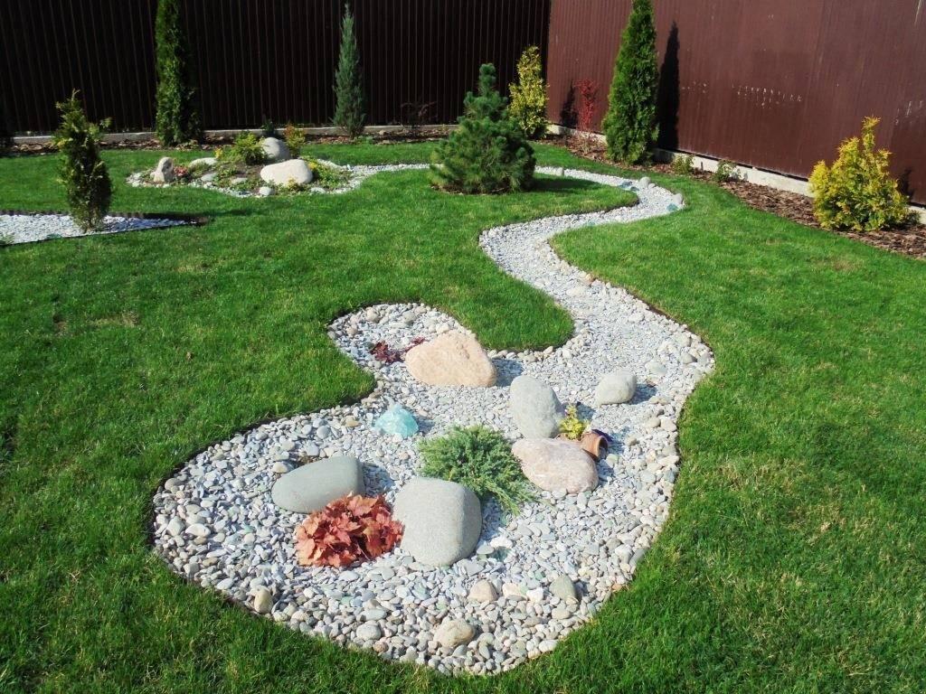 Как сделать клумбу из камней своими руками: идеи каменных цветников