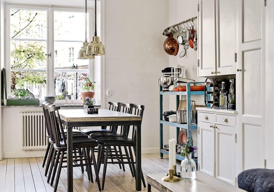 Дизайн кухни в скандинавском стиле: особенности, выбор мебели и декор