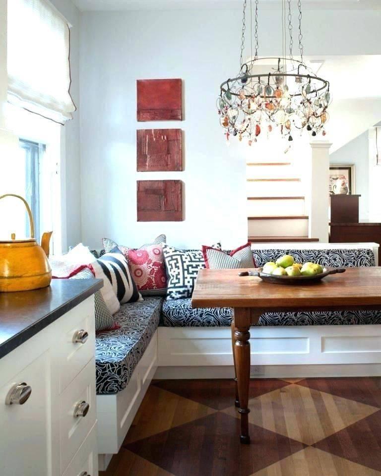Кухонный уголок в интерьере маленькой кухни (50 фото)