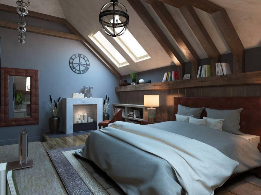 Планировка мансарды (66 фото): планировка внутреннего и внешнего оформления, проекты двускатных мансардных крыш в частном доме, обустройство этажа