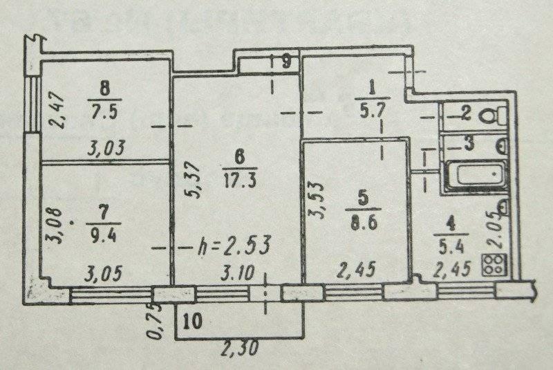 Перепланировка 3-комнатной квартиры (68 фото): перепланировка квартиры 56 кв. м и другой площади в «хрущевке», в кирпичном и панельном доме