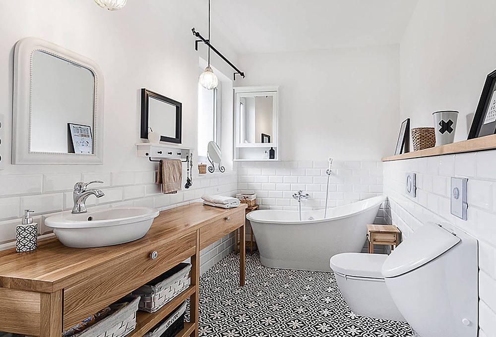 Ванная в скандинавском стиле 13 фото