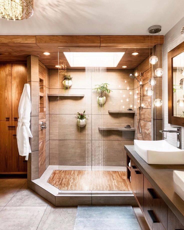 Ванная в доме - выбираем свой вариант