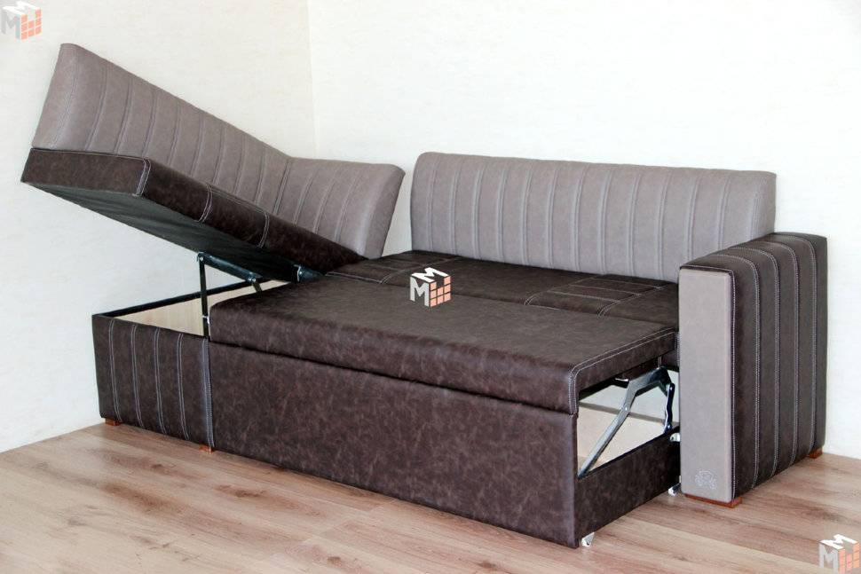 Маленькие угловые диваны со спальным местом