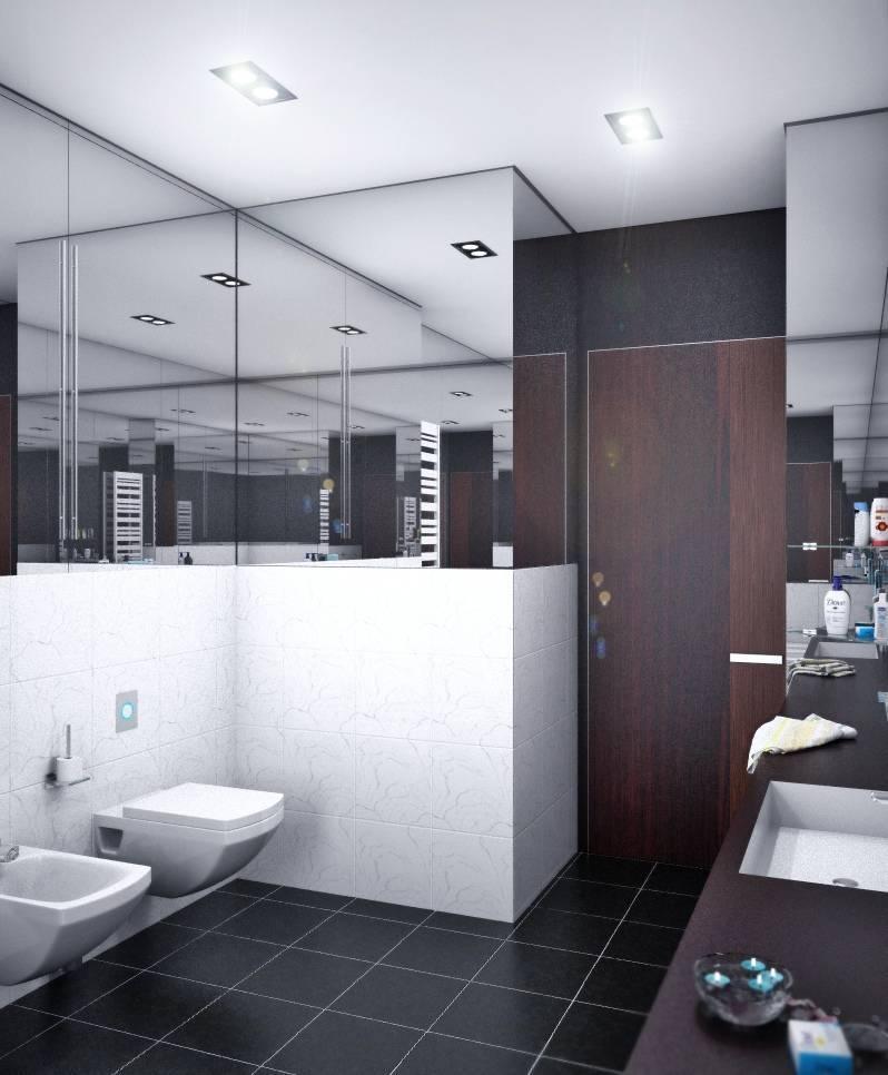 Ванная в стиле хай-тек: отличительные черты, как грамотно оформить комнату - 5 лучших идей, как подобрать мебель для интерьера, примеры готового дизайна на фото