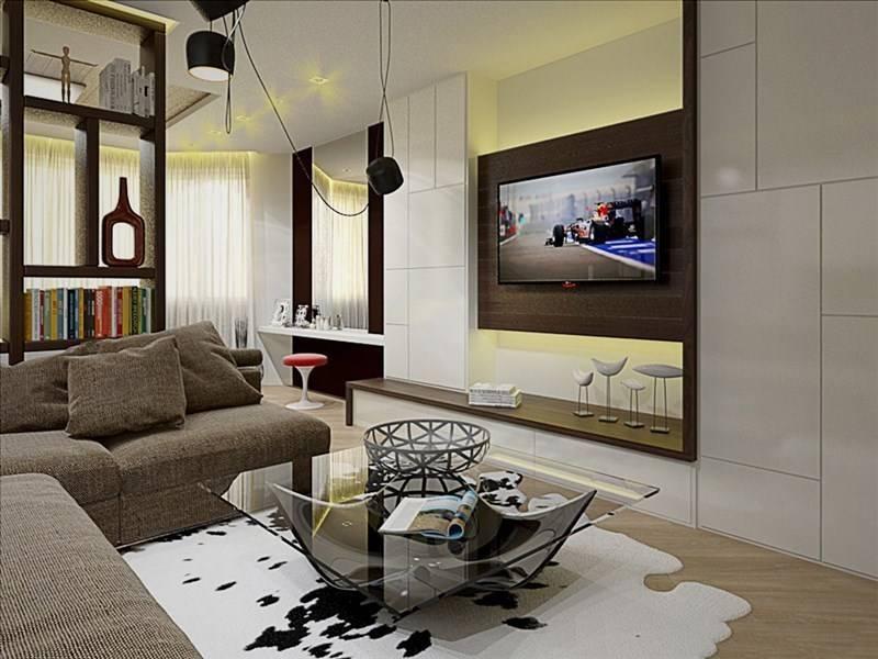 Гостиная-спальня 18 квадратов: дизайн и фото-идеи