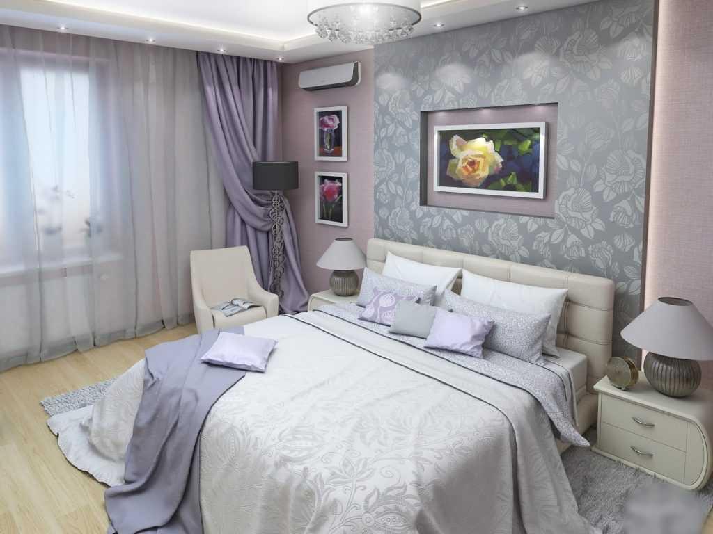 Подбираем шторы для серой спальни