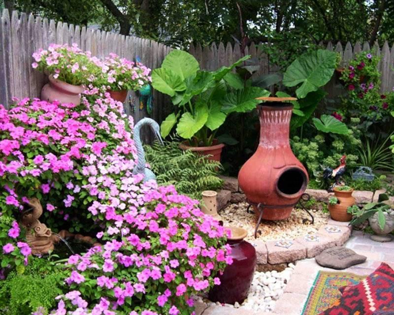 20 реальных примеров запоминающегося оформления садового участка своими руками