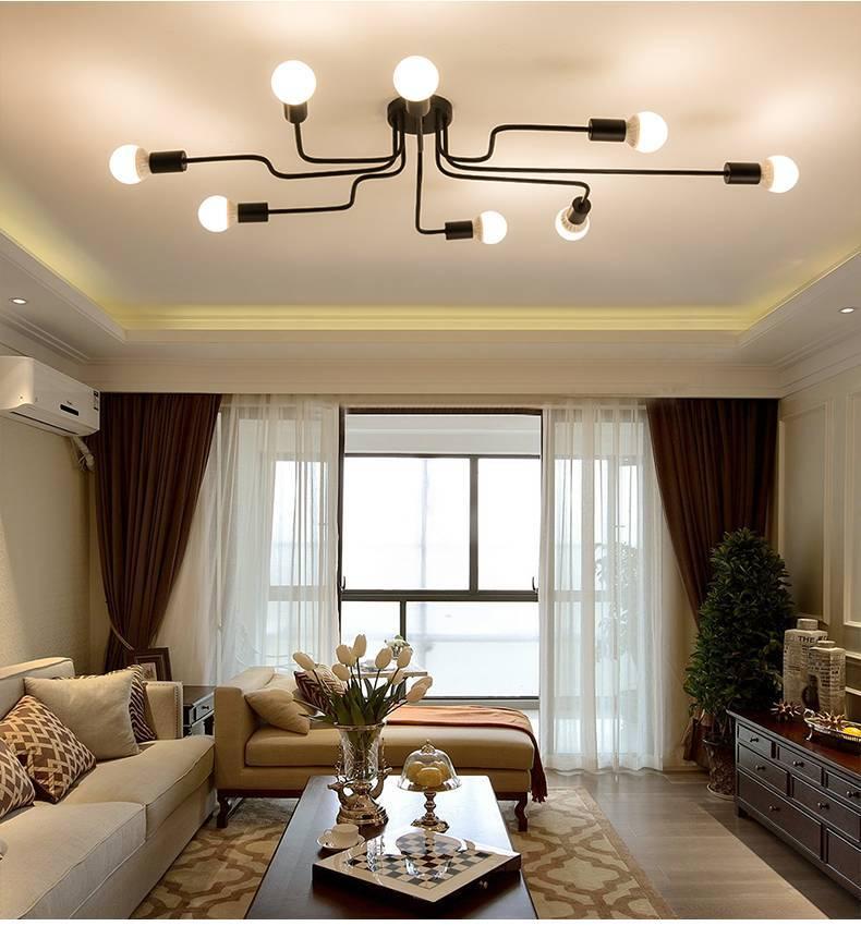 Освещение в гостиной: нюансы организации и советы по выбору