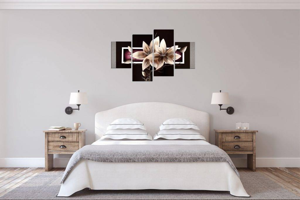 Стильные картины для интерьера спальни (12 фото): над кроватью по фен-шуй