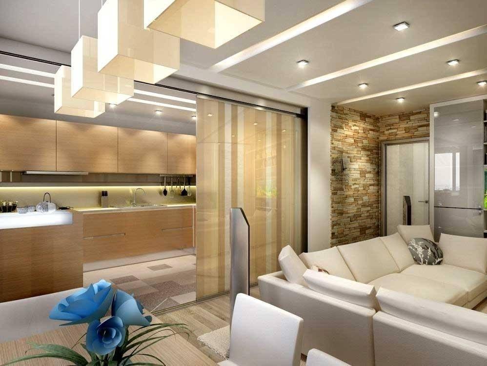 Зонирование гостиной и кухни (89 фото): оригинальные решения разделения комнат. как отделить кухню от гостиной шторой? как разделить их на зоны? варианты дизайна интерьера