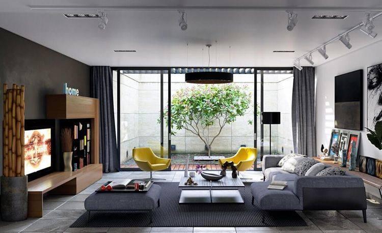 Современный дизайн 1-комнатной квартиры 30-40 кв.м