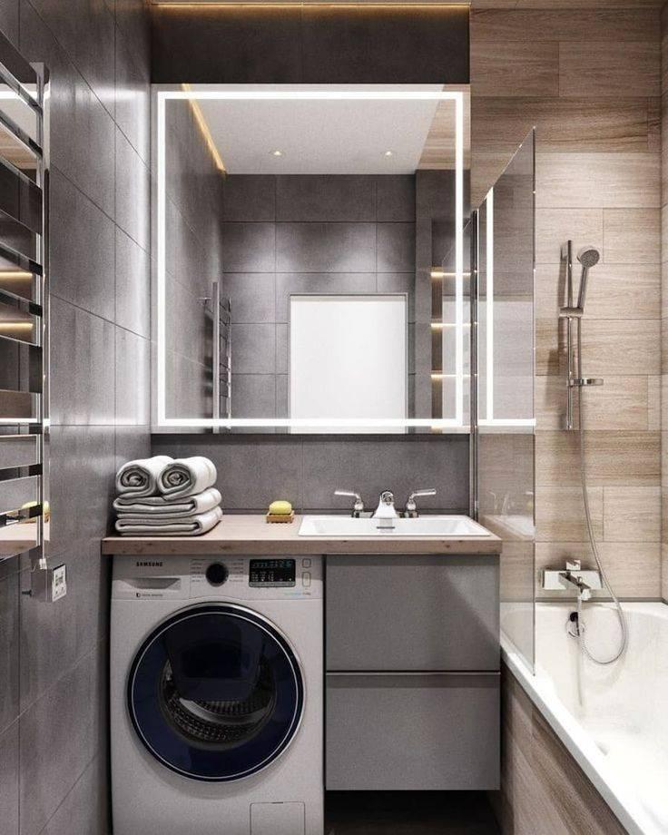 Дизайн ванной комнаты 4 кв. м. фото проектов с туалетом и без