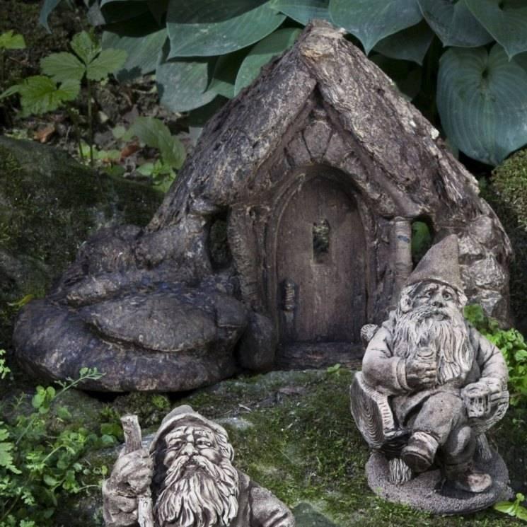 Садовые гномы на дачном участке: 150 фото лучших новинок красивого дизайна для участка