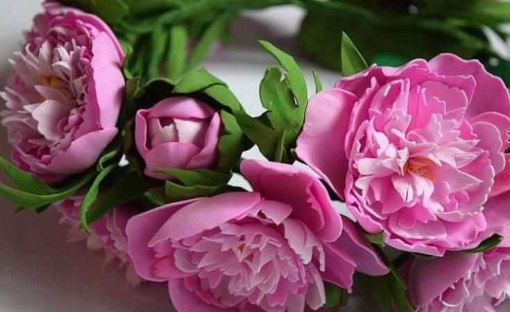Цветы из фоамирана своими руками: изготовление весенних и полевых цветов, а также сложных изделий из фоамирана с пошаговым описанием и фото для начинающих