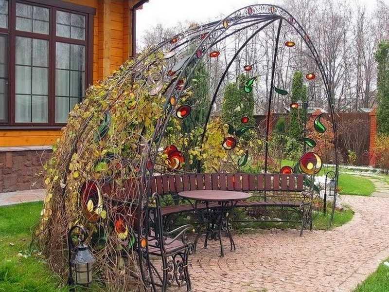 4 группы растений, которые идеально подходят для цветочной арки на supersadovnik.ru