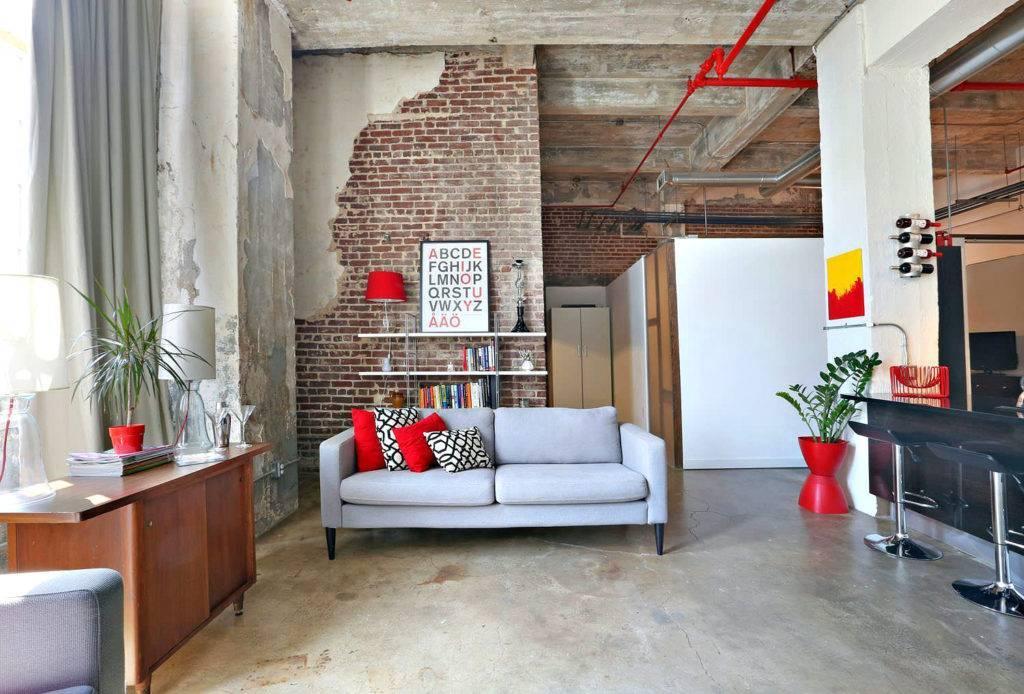 Шторы в стиле лофт: 60+ фото в интерьере комнат, виды, цвета, размеры и комбинирование
