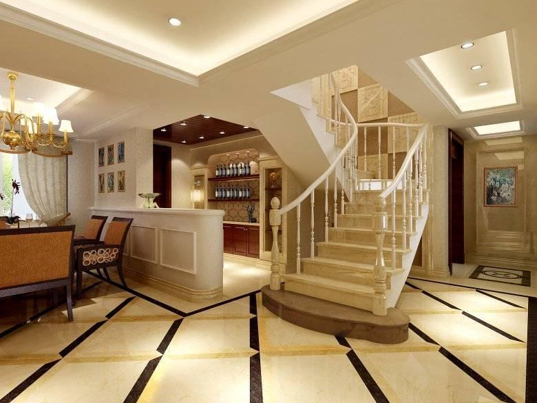 Интересные варианты дизайна зала в частном доме