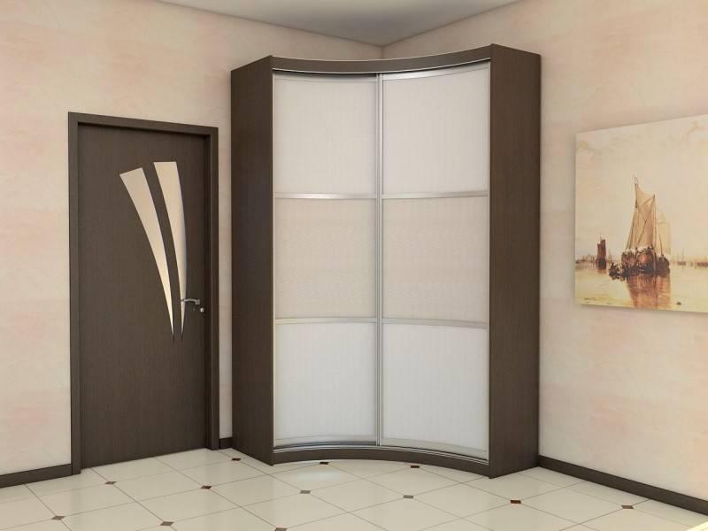 Угловой шкаф-купе: виды, размеры, планировка (50+ фото)