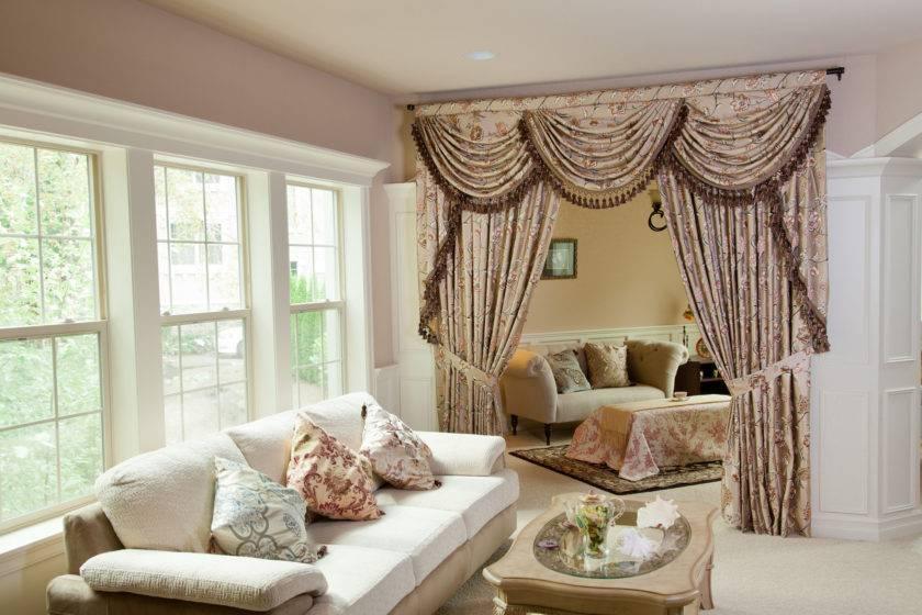 Оформление штор: 108 фото стильных дизайнерских штор