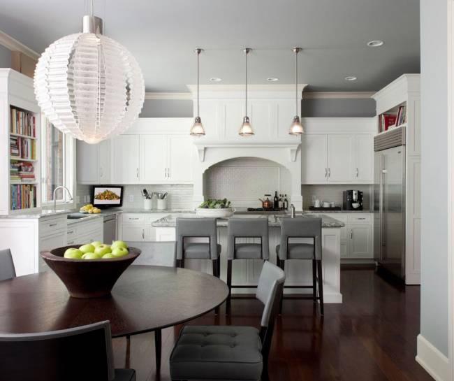Кухня серого цвета: 60+ реальных фото интерьеров