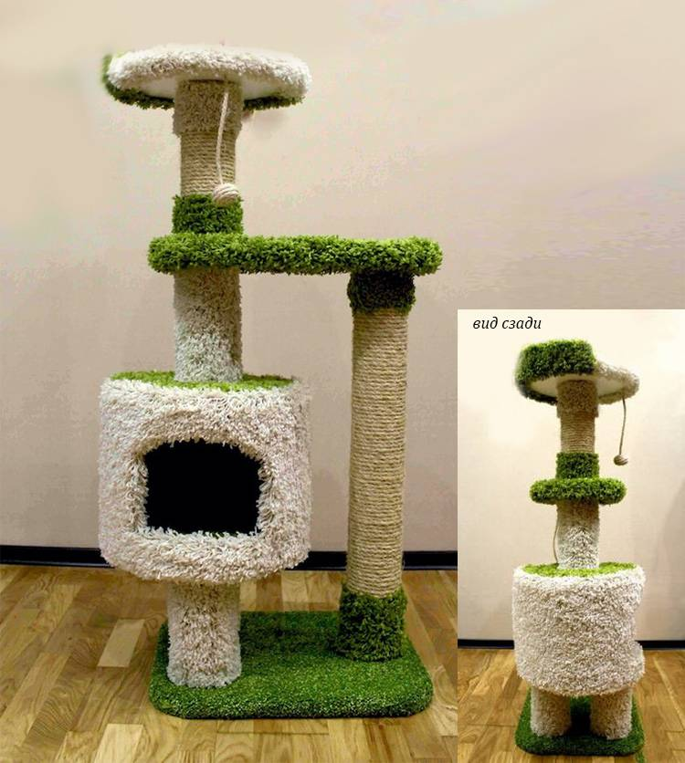 Домик для кошки: идеи, чертежи