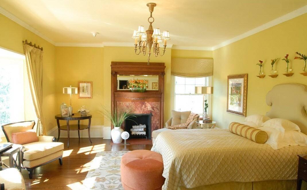 Пыльно розовый: сочетание с другими цветами в интерьере, диван цвета пыльной розы и стены - 26 фото