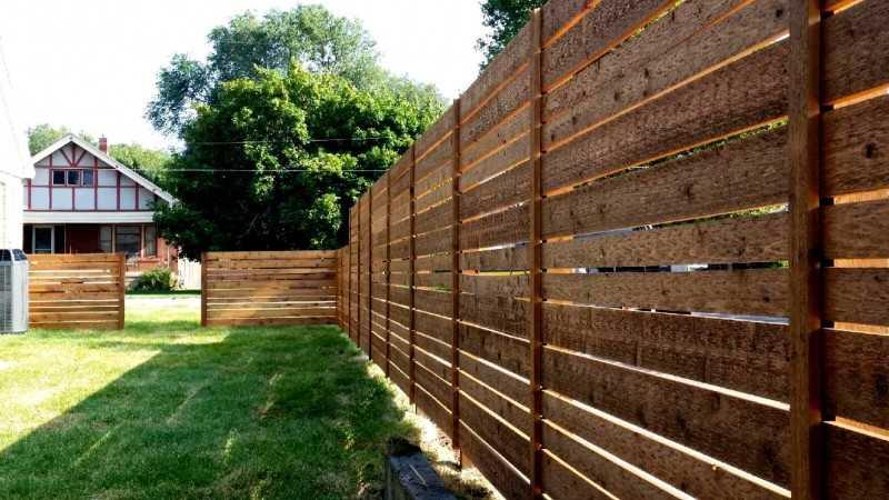 Декоративный деревянный забор для сада: как его сделать своими руками