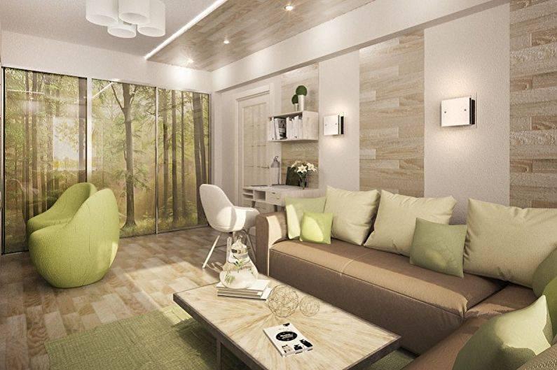 Планировка 4х комнатной квартиры - изумительный и необычный дизайн (60 фото)