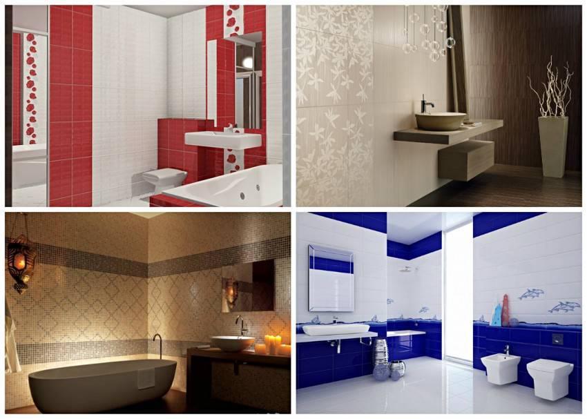 Белая плитка в ванной: дизайн, формы, цветовые сочетания, варианты расположения, цвет затирки