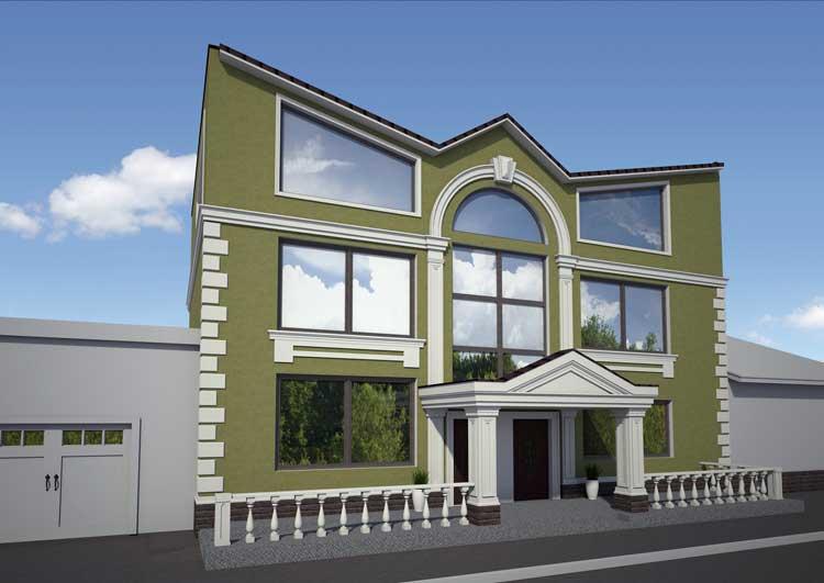 Новые фасадные технологии и материалы