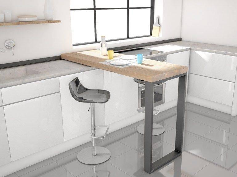 Раскладная барная стойка на кухни: трансформер, полезные советы