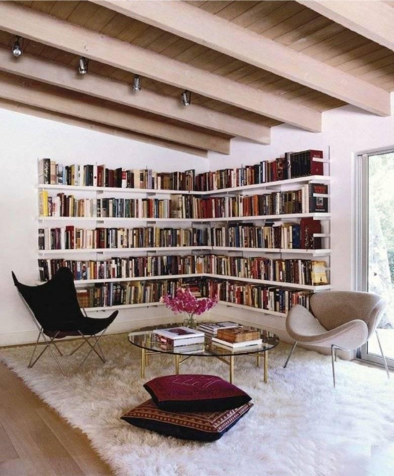 Секреты создания домашней библиотеки, идеи, которые помогут выбрать место и оформить его нестандартно - 25 фото